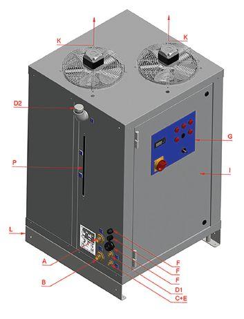 DTE - chladiace jednotky